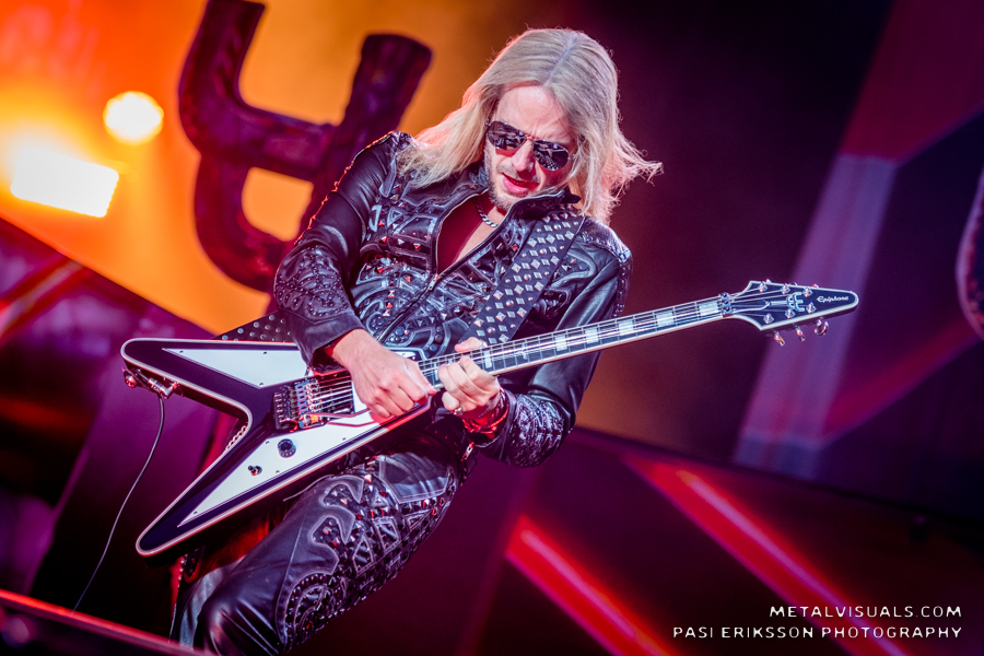 The Rockfest in Finland picture gallery of Judas Priest in concert at Rockfest