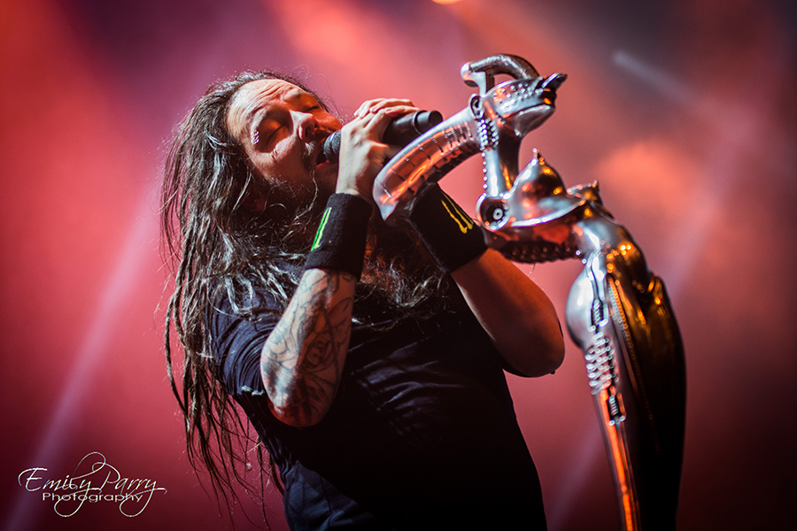 Picture of Korn in concert by Netherlands Music Photographer Emily Parry