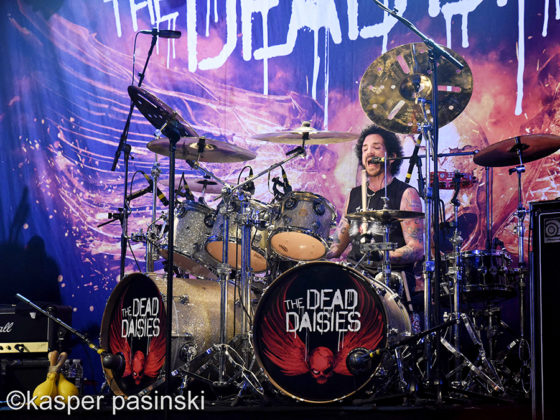 The Dead Daisies in concert at Pumpehuset ,  Denmark. by Copenhagen Music and Pit photographer Kasper Pasinski