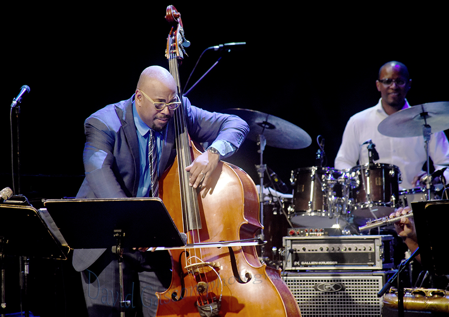 Picture galleries of the Christian McBride jazz concert in
