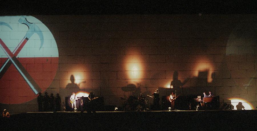 Progressive rock concert photography  Pink Floyd concert