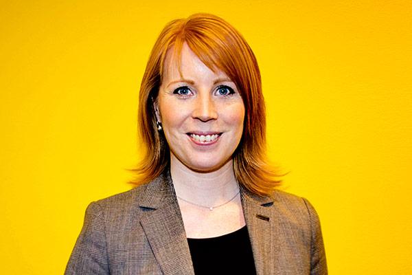 Centerpartiets partiledare Annie Lööf. Foto: Magnus Hallgren/Scanpix