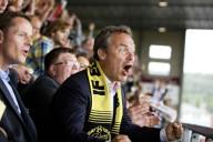 Jan Björklund, partiledare Folkpartiet, är en känd fotbollssupporter (och chef).