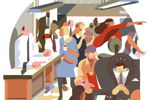 Illustration: Sam Vanallemeersch/Kolchoz