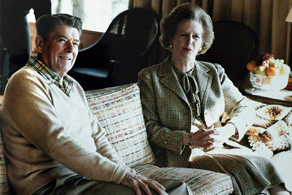 Margaret Thatcher Ronald Reagan