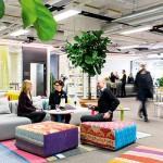 Aktivitetsbaserade kontorslösningar med många olika platser att arbeta på blir allt vanligare.