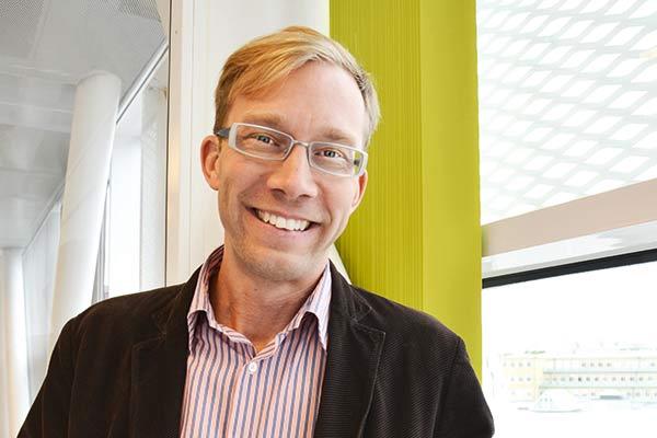 Jonas Krook är industridoktorand i forskargruppen Automation.