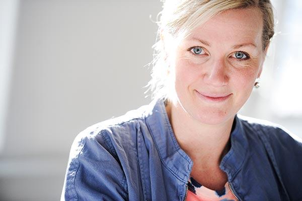 Catarina Molin Österlunds mål i Chefutmaningen är att springa milen under 60 minuter. Hon har redan ökat sin träningsdos och är nu uppe i tre eller fyra gånger i veckan. Foto: Magnus Liam Karlsson.