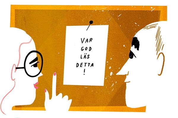Illustration: Sanna Mander.