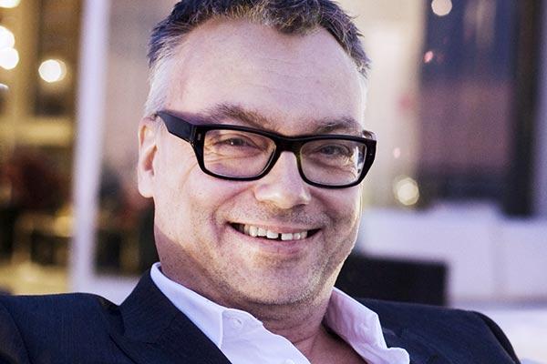 Måns Falk, ansvarig för Accademia di Luca, har gått ner tre kilo sedan Chefutmaningen startade i februari.