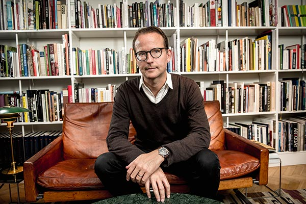 Lars Strannegård, rektor Handelshögskolan. Foto: Michael Steinberg.