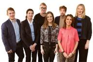 Här är panelen som Chef diskuterade med. Fr v Gustaf Brusewitz, kommunikationschef Google, Marie Hallander Larsson, HR- expert, Göran Adlén, trendspanare, Katarina Gospic, hjärnforskare, Erik Ringertz, vd Netlight och Årets chef 2014, Hidayet Tercan, entreprenör samt Klara Adolphson,  enhetschef Vinnova.