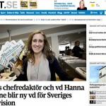 Skärmdump från UNT.se