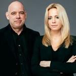 Jan Almgren och Carolina Neurath. Foto: Pressbild.