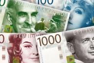 Riksbankens förslag på nya sedlar, som förväntas börja gälla om några år. Foto: Pressbild.
