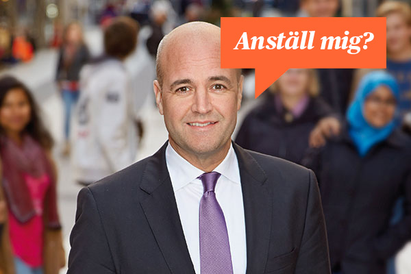 Cv-experten Monica Renstig recenserar Fredrik Reinfeldts cv.