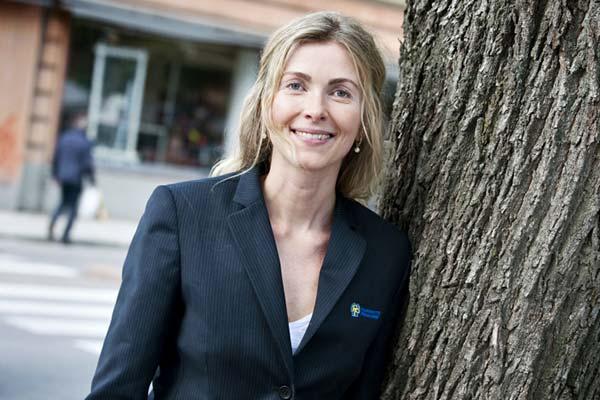 Riksidrottsförbundets ordförande Karin Mattsson Weijber började sin karriär i stallet.