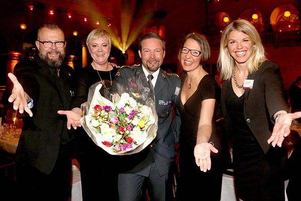 Vinnarna på Chefgalan 2015.