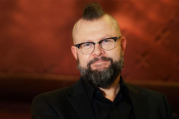 Magnus Sallbring, ATEA Sverige, utnämndes till Hälsofrämjande chef 2015. Foto: Johan Lygrell