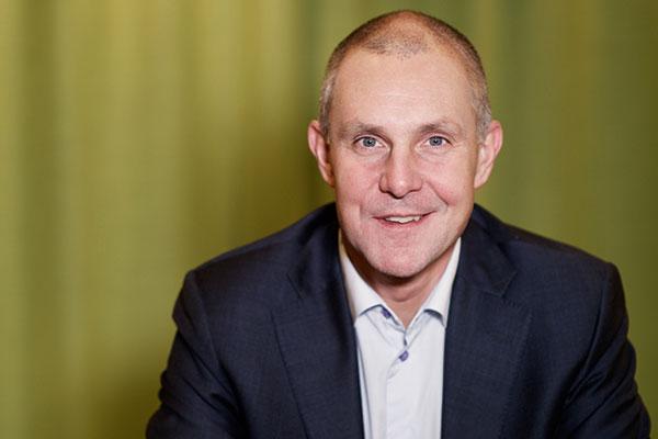 Olof Faxander, vd Sandvik utnämndes till Mångfaldschef 2015 vid Chefgalan i Stockholm.