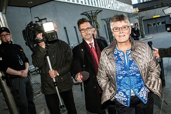 Åren i det politiska toppskiktet var inte bara en dans på rosor, tycker Maud Olofsson. Foto: Robin Lorentz–Allard/TT