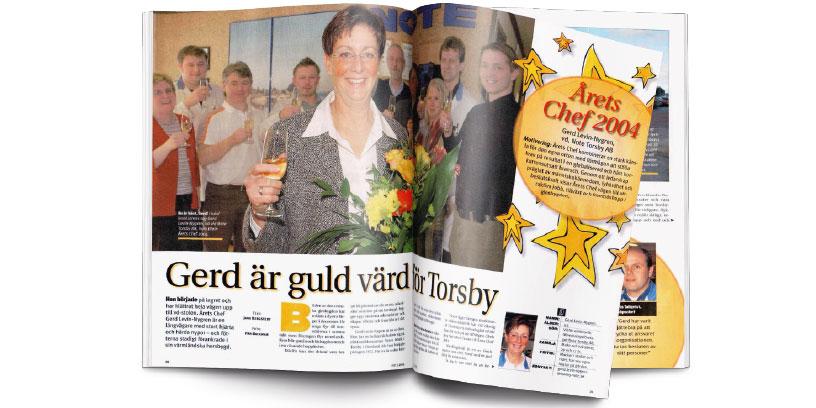 Årets chef 2004 - klipp