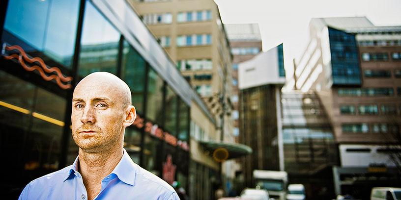 Ricard Bergfors. Foto: Marc Femenia/TT