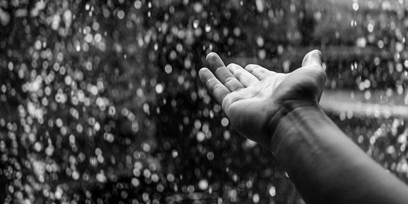 metoder-kommunicera-hand-regn