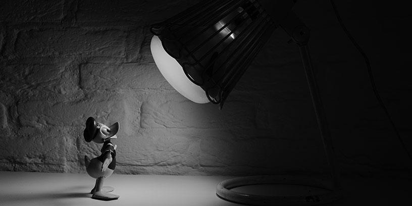 kalle-anka-disney-lampa-metoder-fatta-beslut