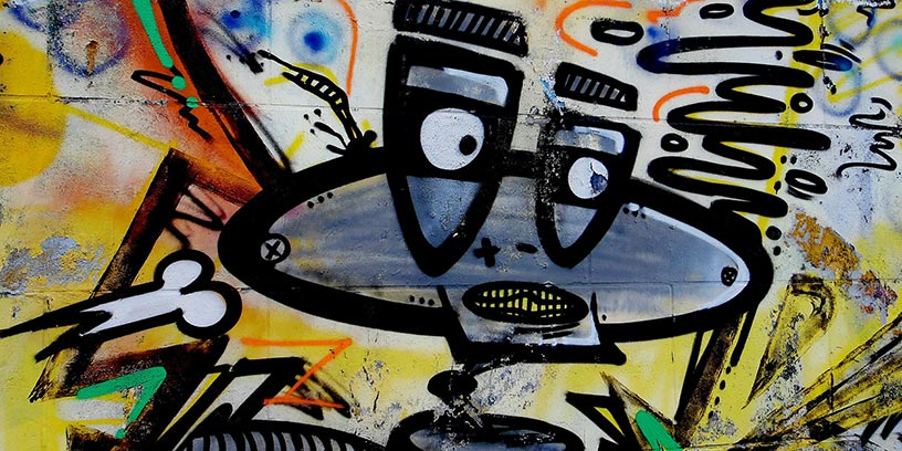 grafitti-robot