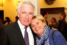 Eva Hamilton med sin man Karl-Johan von Heland. Båda är adliga och har en koppling till Afrika.