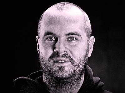 David Wennersdahl, ägare Tacticalstore som säljer friluftsutrustning.
