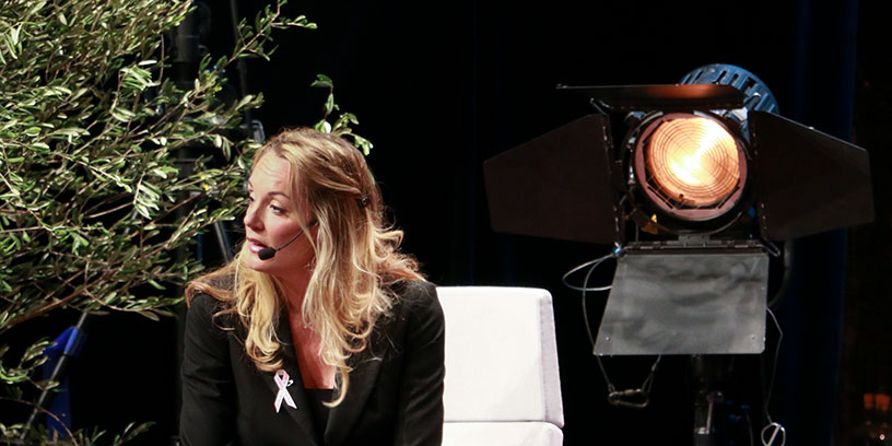 Lisa Gunnarsson, Nordenchef på Linkedin. Foto: Jessica Lasses