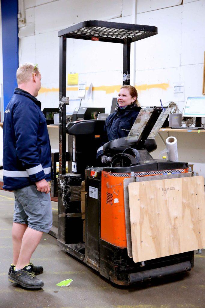 Mångfaldsarbetet pågår sedan tre år. Nu väntar en åtta veckor lång mångfaldsutbildning för alla på Martin & Servera. Foto: Karina Ljungdahl