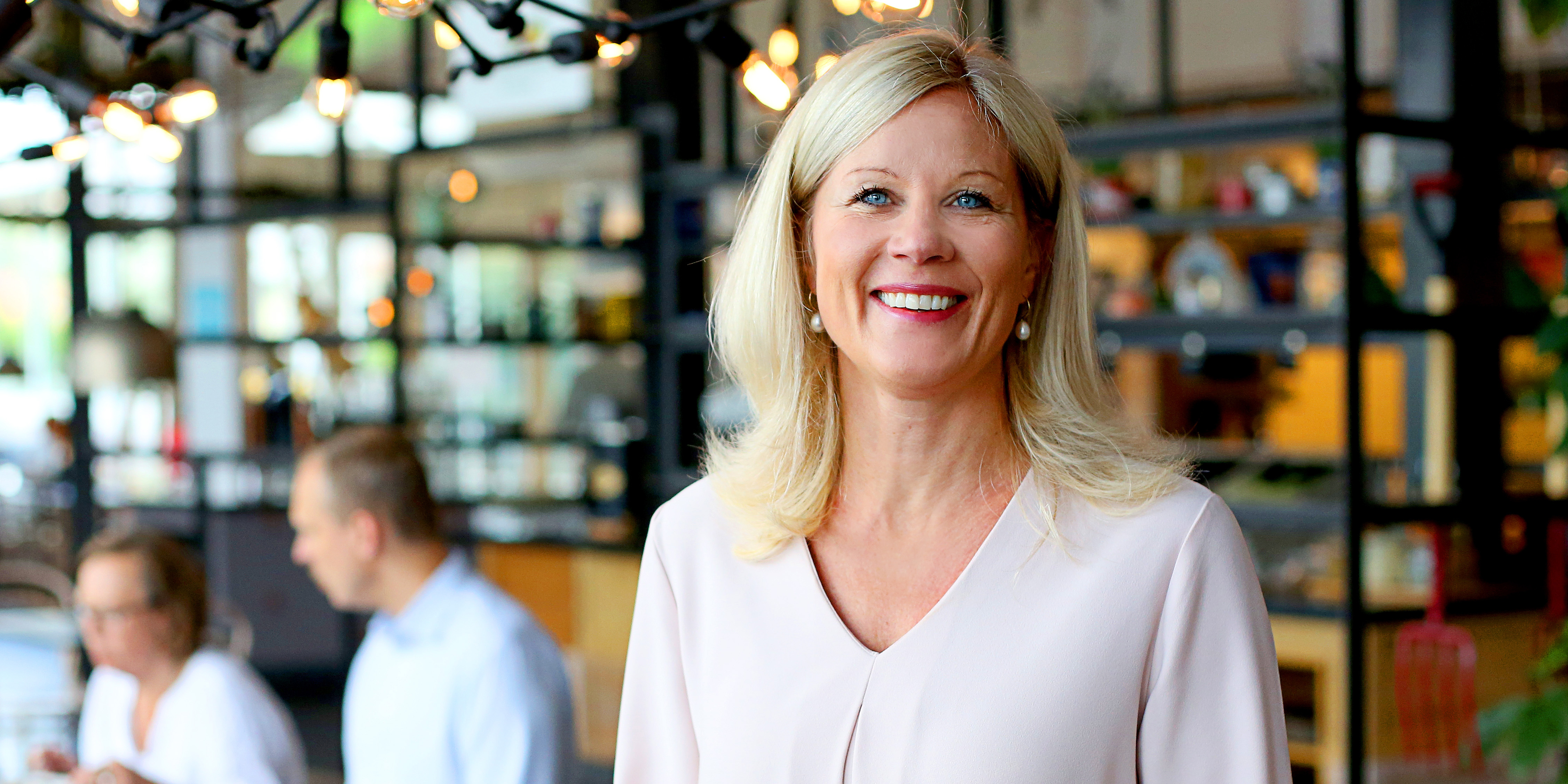 Maria Branestam är hr-direktör på Martin & Servera och leder förändringsarbetet för de över 2000 anställda.     Foto: Karina Ljungdahl