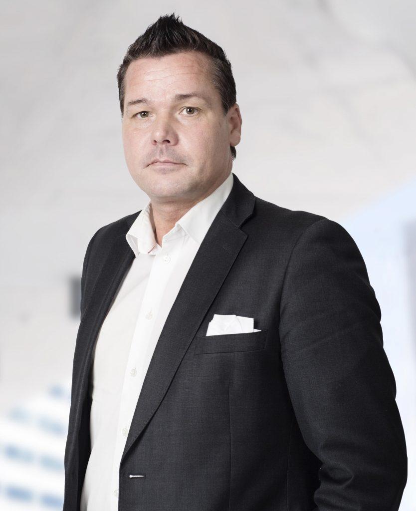 Försäljningschef Johan Buch på Securitas.