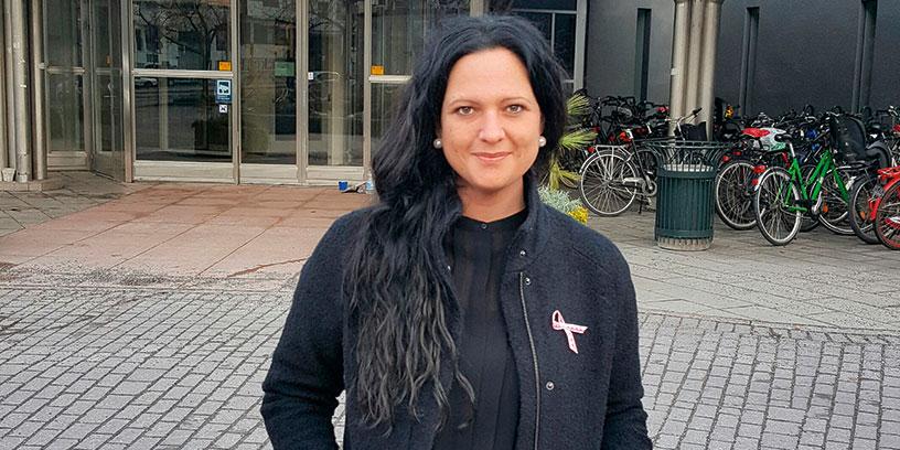 Lisa Ågevik är en av SVT:s  hr-partner som håller utbildning i medarbetarskap.