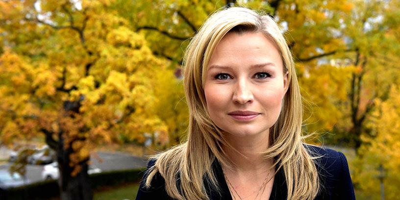 Ebba Busch Thor, partiledare Kristdemokraterna. Foto: Janerik Henriksson, TT-bild