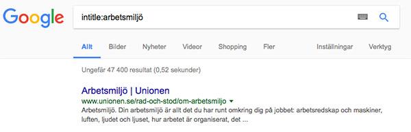 google-intitle