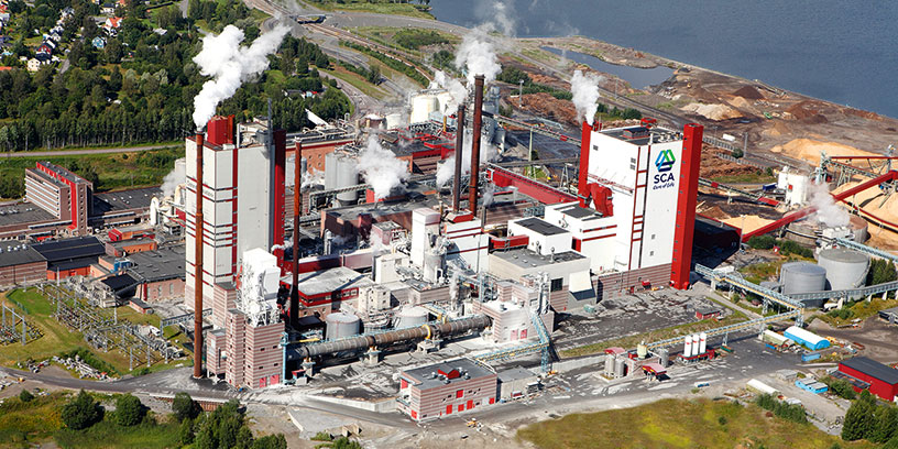 En aktuell jättesatsning av SCA sker i Östrands massafabrik i Timrå där en ny fabrik för 7,8 miljarder kronor invigs nästa år.