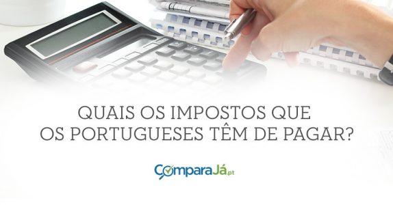 Infográfico | Quais os impostos que os portugueses têm de pagar?