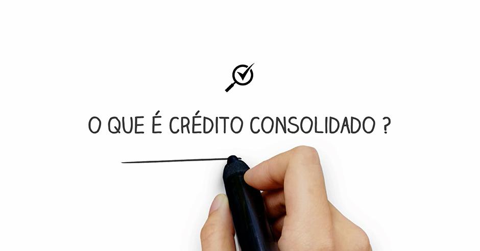 Para que serve um crédito consolidado