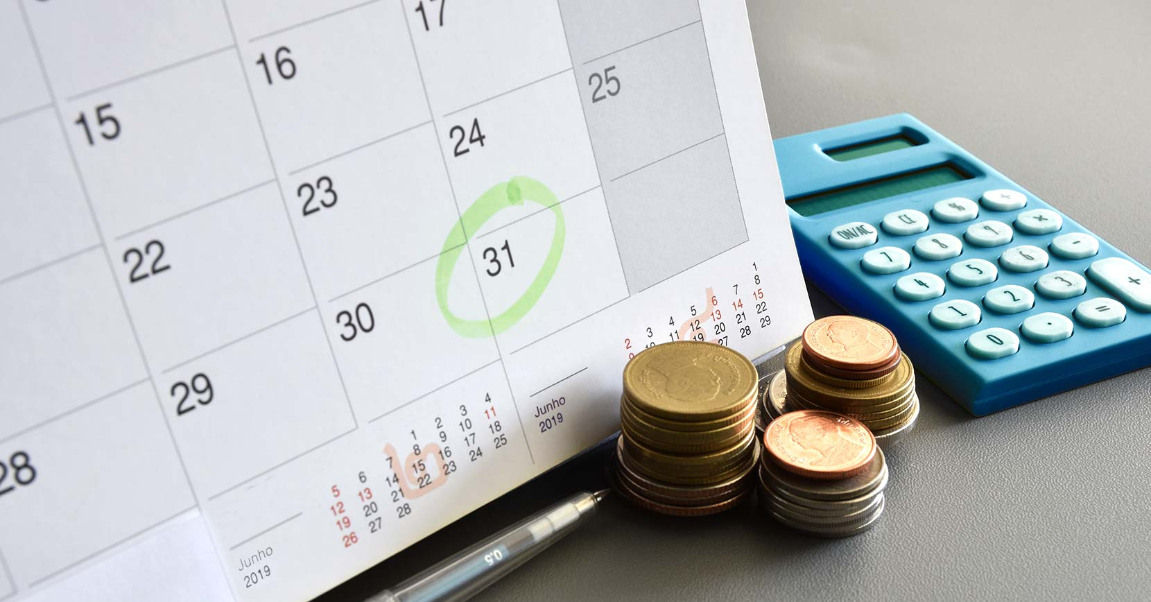 mapa de prestações mensais