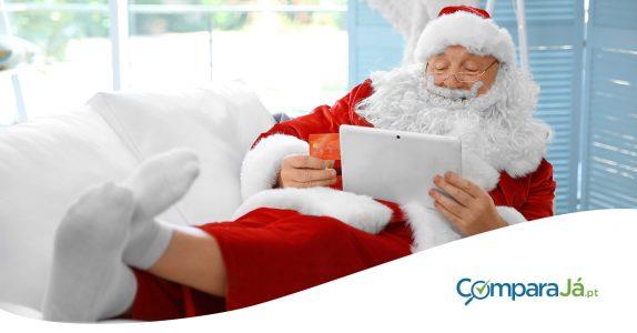 E se o Pai Natal tivesse um cartão de crédito?