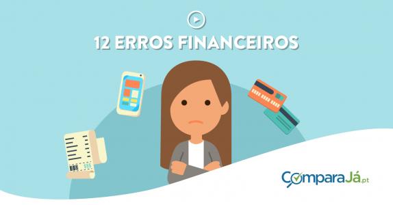 VÍDEO | 12 meses, 12 erros financeiros