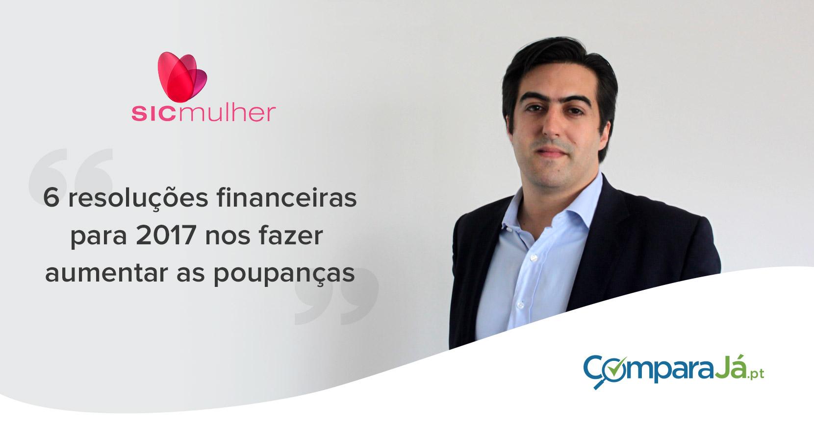 Sérgio Pereira na Sic Mulher: Organizar as Finanças para 2017