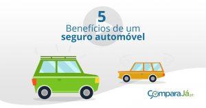 VÍDEO | 5 Benefícios de ter seguro automóvel