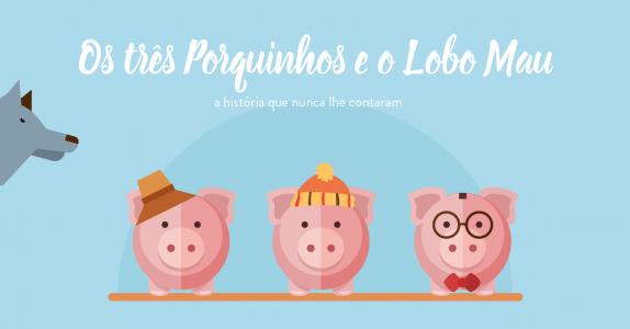 Os Três Porquinhos: a história alternativa em vídeo