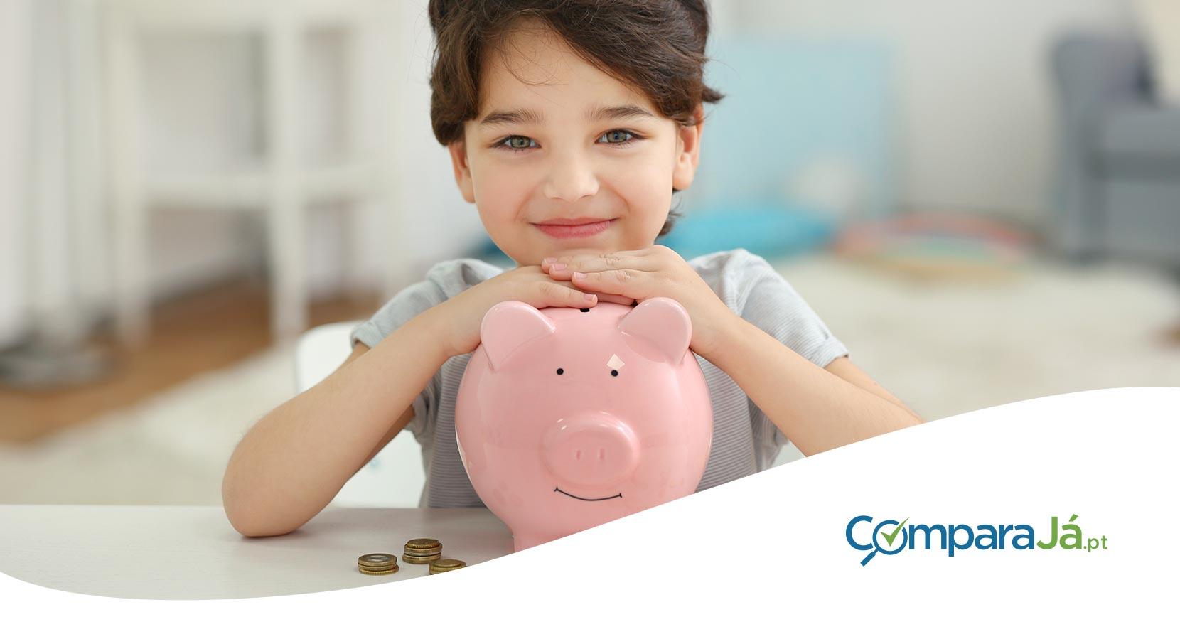 poupança para crianças