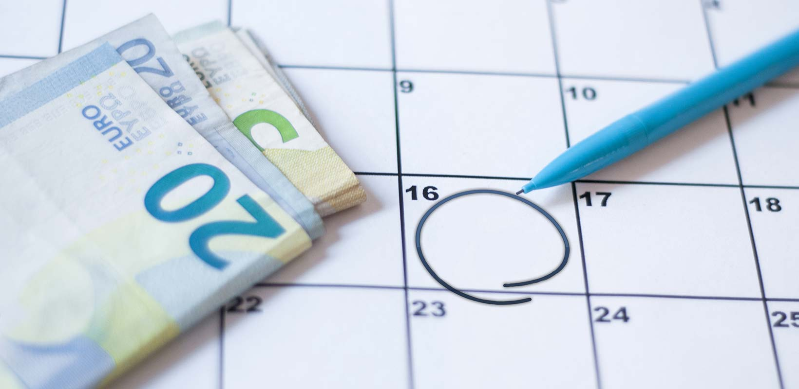 Prestação mensal em Portugal